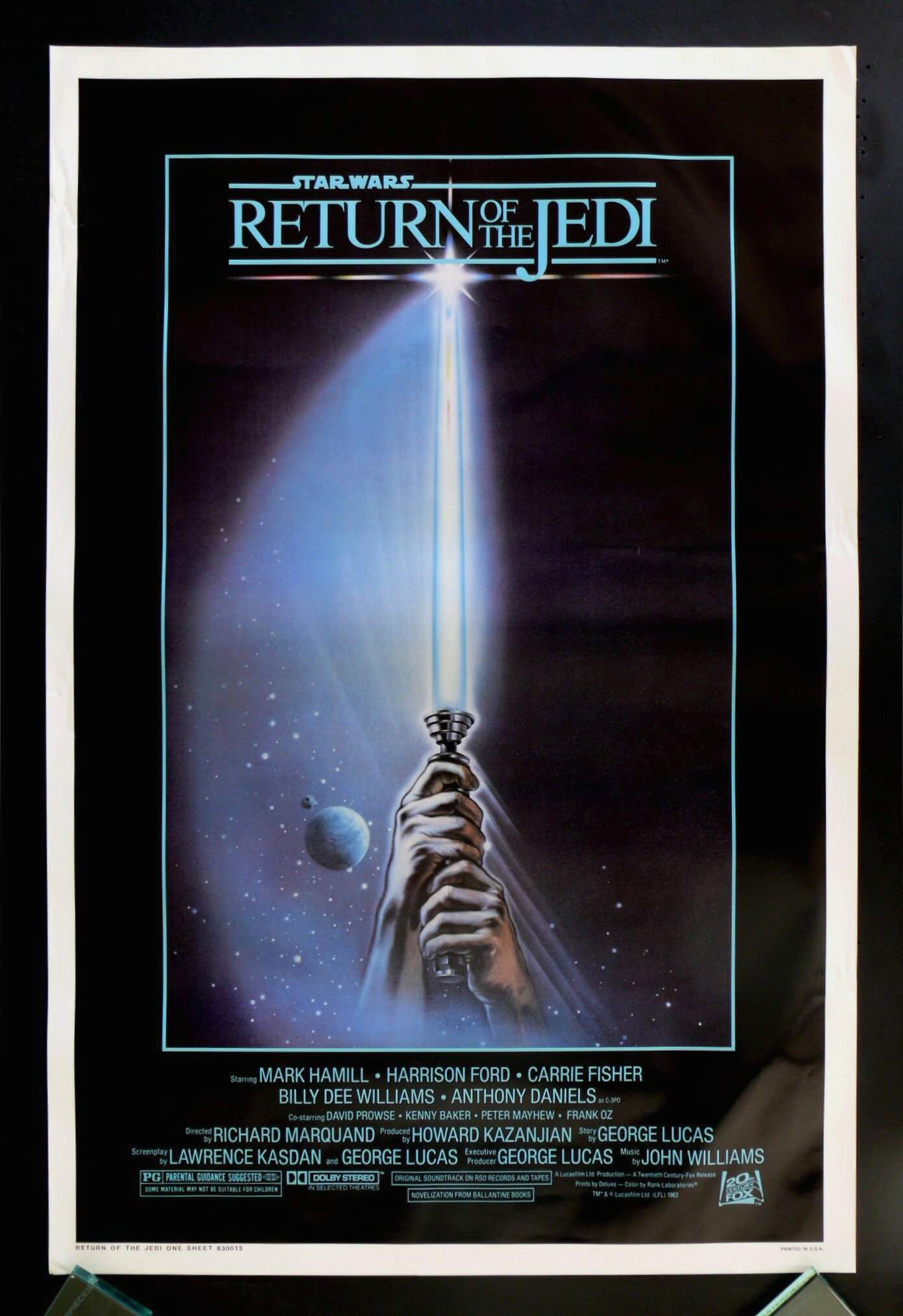 Return of the jedi original movie poster