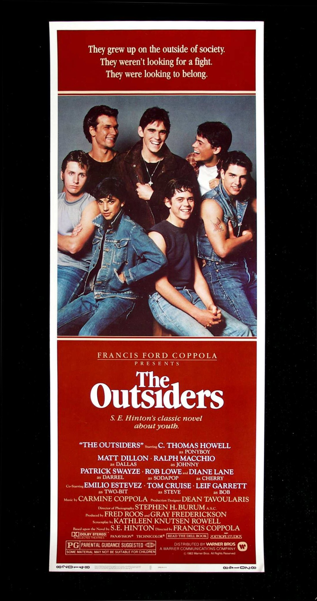 Outsiders movie poster